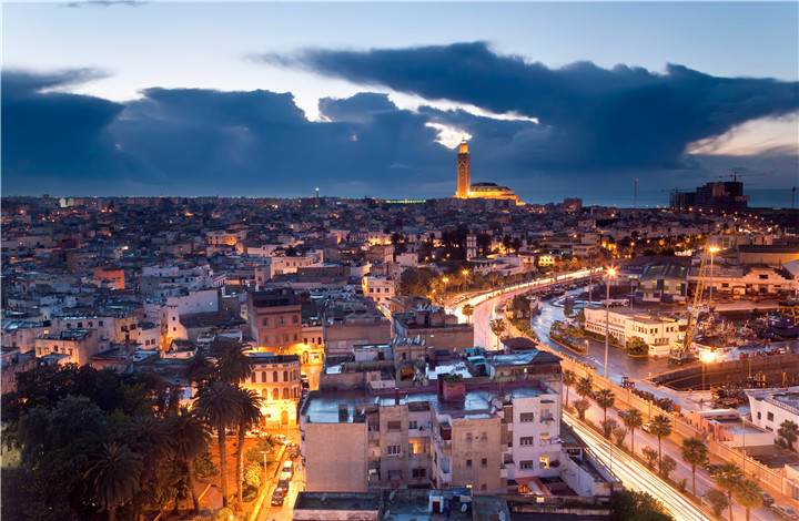 city-evening-casablanca-morocco
