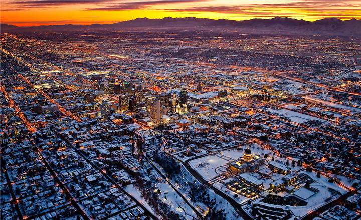 Salt-Lake-City-Sunset